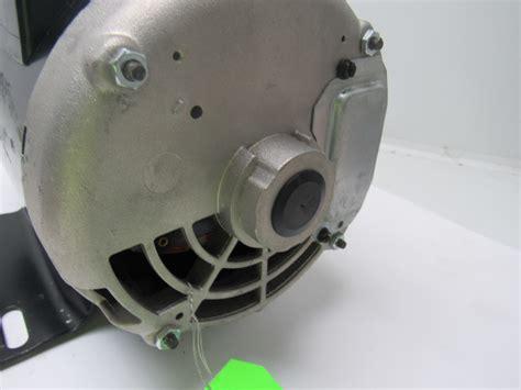 5 hp capacitor start motor century b384 5 hp air compressor electric motor capacitor start run 208 230v ebay