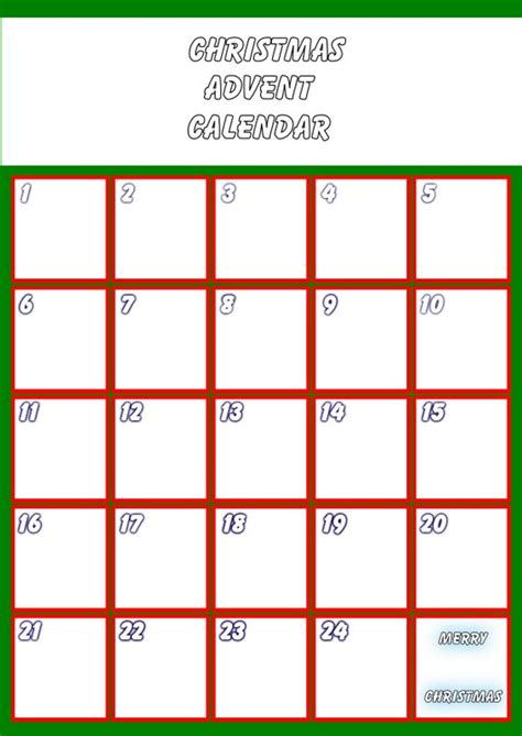 free printable advent calendar template simply crafts blank advent calendar click to enlarge