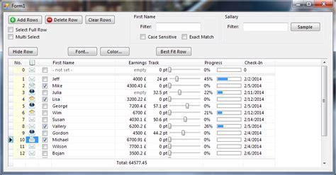 grid layout delphi bergsoft delphi net components grid dbgrid object