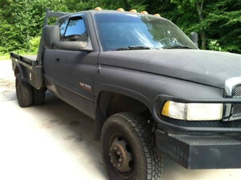 how does cars work 2001 dodge ram 3500 electronic valve timing purchase used 2001 dodge 3500 cummins diesel extended cab 4 door 4x4 4wd 6 speed manual nice in