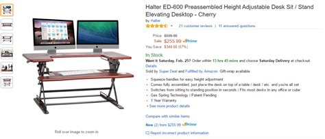 Amazon Affiliate Program How Much Money Will Your Site Standing Desk Calculator