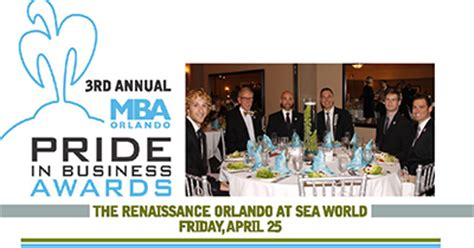 Ucf Mba Evening Program by 3rd Annual Mba Orlando Pride In Business Awards Hotspots
