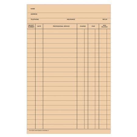 patient ledger card template buy stock fold a log ledger card blank 100 pkg
