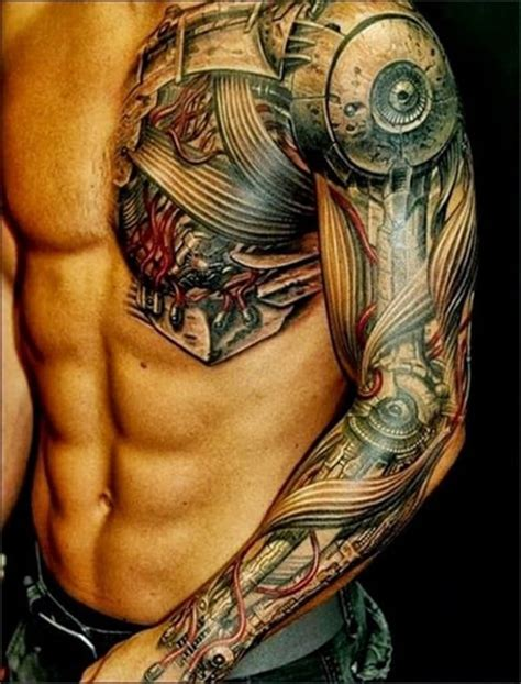 best tattoo locations for men the 100 best chest tattoos for improb