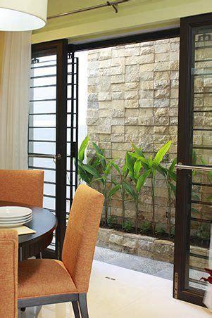 sliding glass door  grills philippines house design