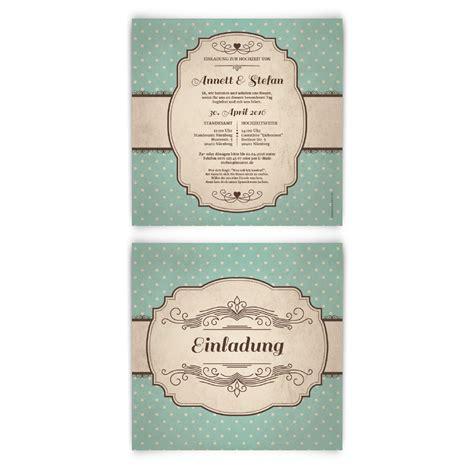 Hochzeitseinladung 50er Jahre Stil by 50er Jahre Vintage Hochzeitseinladungen