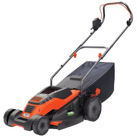 black decker mower black decker 17 in 12 corded electric walk