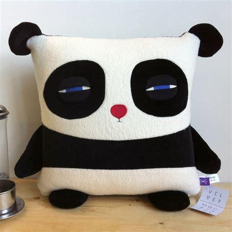 Panda Pillows by Sleepy Panda Dying Inside Breanne Kisling Fab