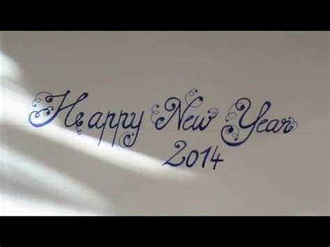 new year in writing cursive fancy letters how to write beautiful letters