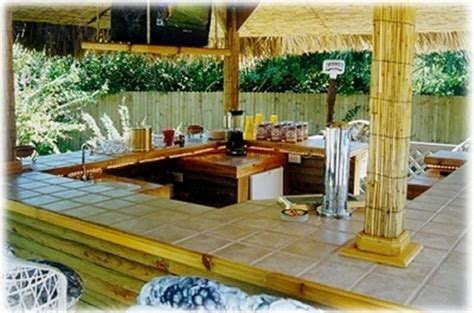 big kahuna tiki home bar plans