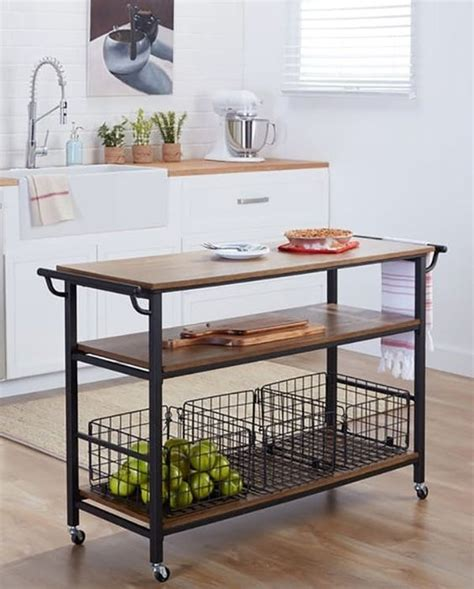 25 industrial kitchen islands to make a statement digsdigs