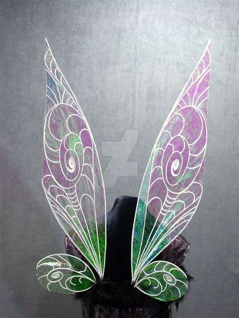 pin  rebecca gamble  fairies tinkerbell wings diy
