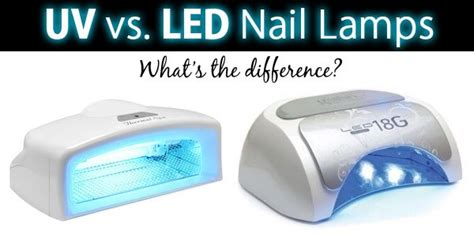 led vs uv curing l led versus uv for curing gel based polishes australian