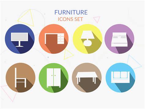 design icon furniture furniture icon set psd freebie supply
