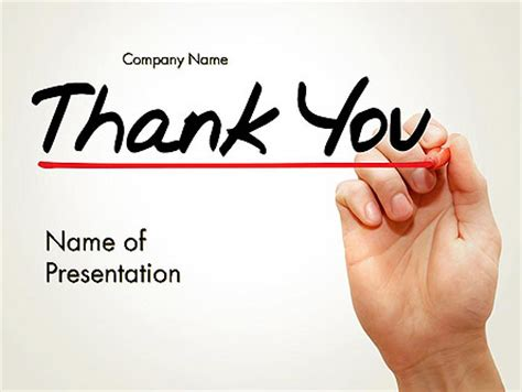 thank you templates for ppt free thank you powerpoint templates and backgrounds for your