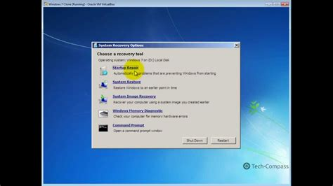 how to service how to repair windows 7 startup problems by tech compass
