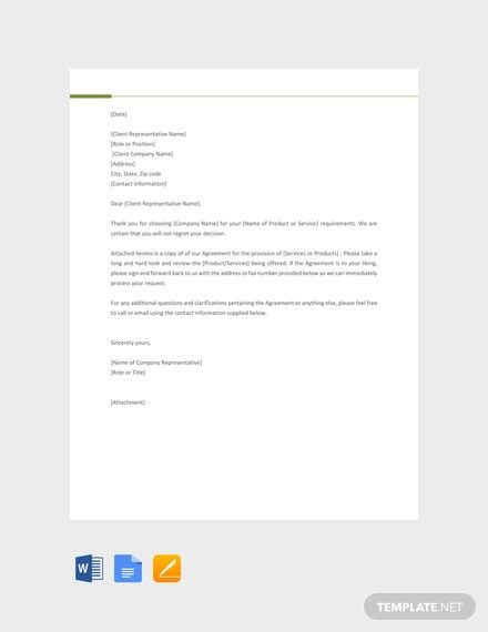 business offer letter template word google docs