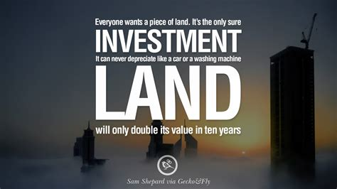 best real estate investments quotes about real estate investing quotesgram