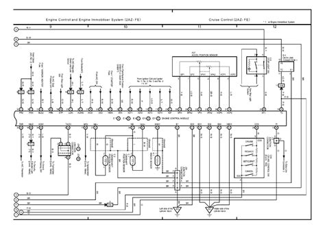 2002 toyota camry air conditioning wiring diagram toyota