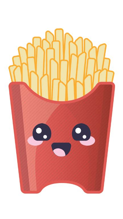 hot chips gif chips french fries animated images gifs pictures