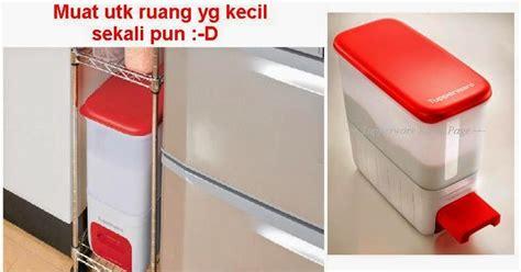 Dispenser Yg Bagus ricesmart tupperware bekas beras jimat ruang