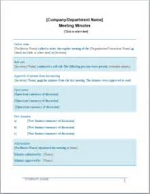 formal meeting minutes template professional meeting minutes template document templates