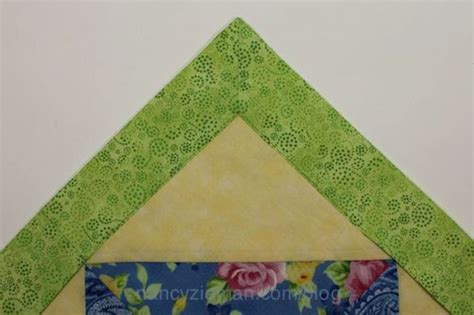 Mitred Corners On Quilt Borders by Easy Mitered Corner With No Math Miter Template By Nancy