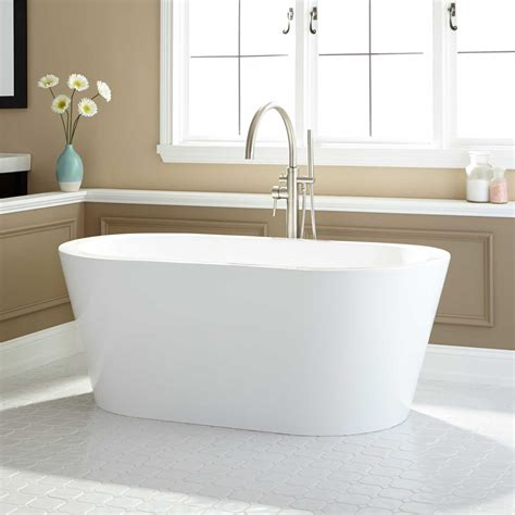 54 acrylic bathtub 54 quot santorini corner acrylic air tub bathroom