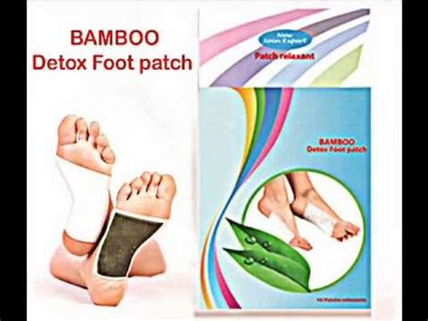 Chi Detox Foot Patches Review by Bamboo S Detox Foot Patch