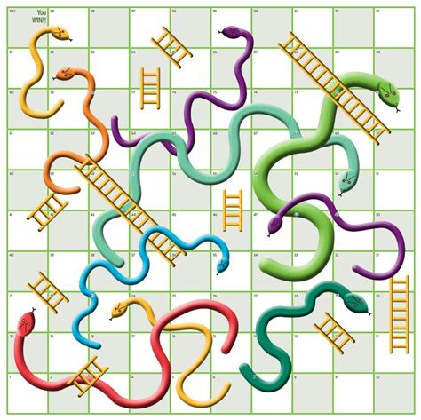 snakes and ladders printable template snakes and ladders board printable template