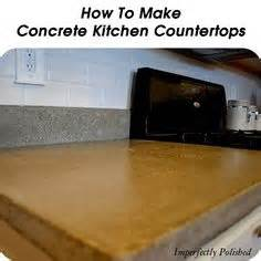 How To Form Concrete Countertops by 1000 Images About Countertops On Diy Wood Countertops Wood Countertops And Butcher