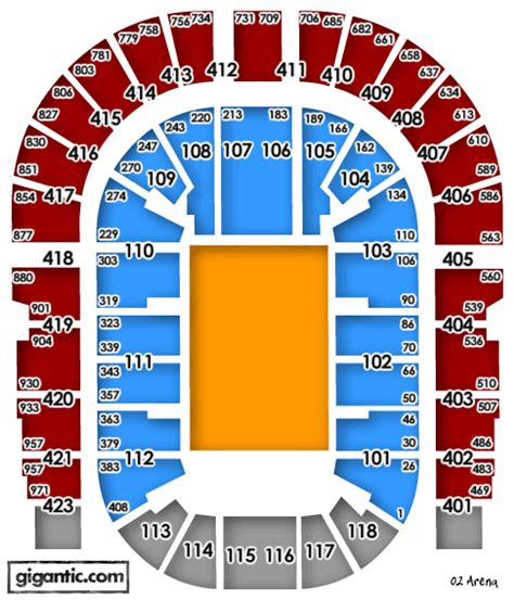 o2 floor seating plan age restrictions
