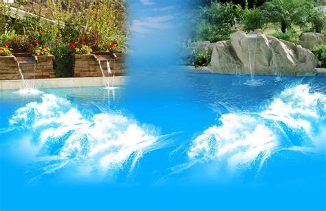pool waterfalls swimming pool with waterfall backyard design ideas