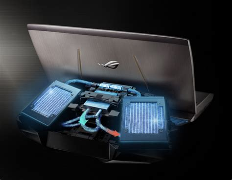 Asus Laptop For Gaming Singapore asus rog gx700 a powerful laptop comes packed in a luggage