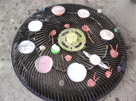sistema solar con material reciclado material reciclado el blog de nuestra clase material