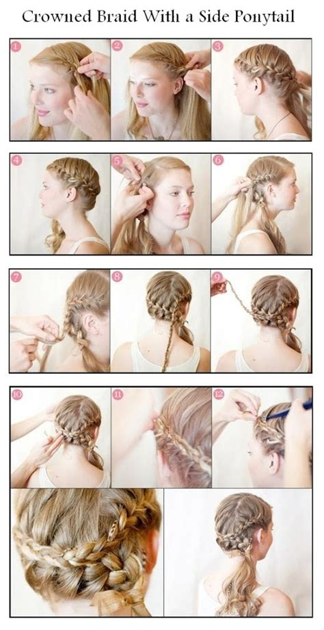 hairstyles to the side tutorial 20 amazing braided hairstyles tutorials style motivation