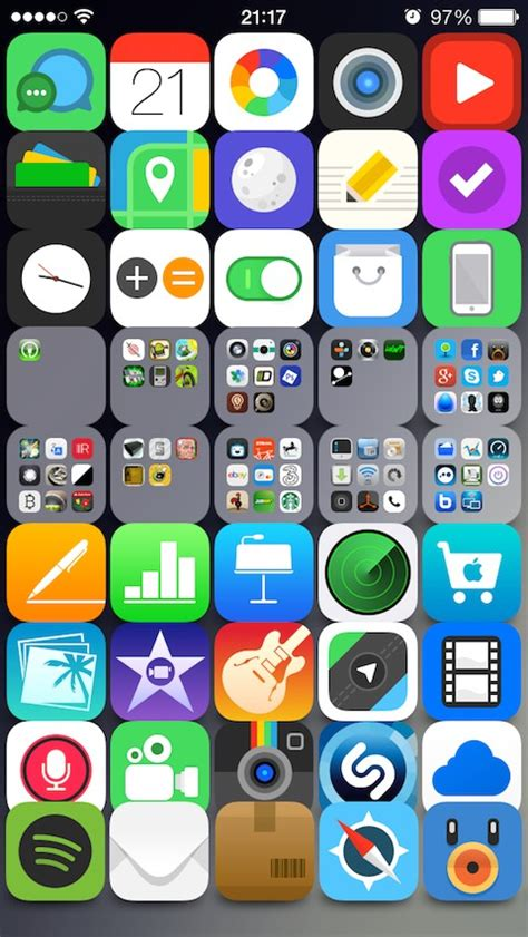iconoclasm layout maker ios 8 5x8 no icon labels iconoclasm layout thebigboss org