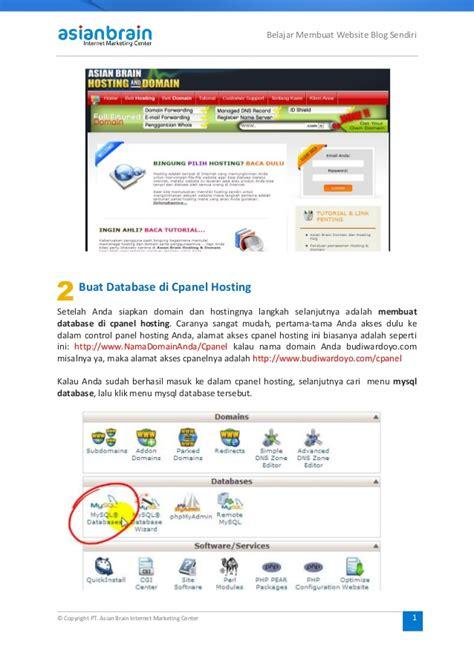 cara membuat web net cara membuat web blog