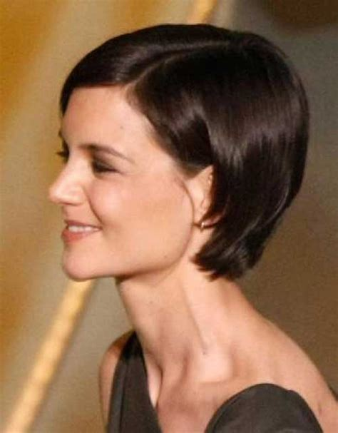 short hairstyles as seen from behind katie holmes bob pictures you should see bob hairstyles