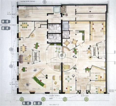 Mixed Use Floor Plans | mixed use building floor plans 171 home plans home design