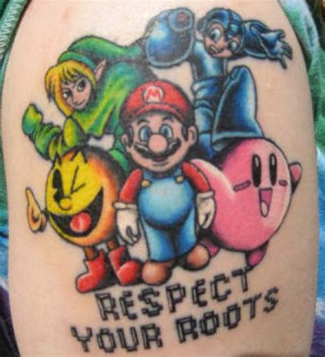 video game tattoo tattoos of heroes 32 pics izismile