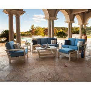 Six Piece Patio Set by Polywood Outdoor Furniture Harbour 6 Piece Patio Set