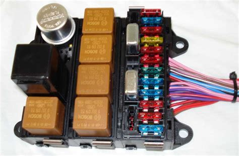 kit car fuse relay box wiring diagram with description