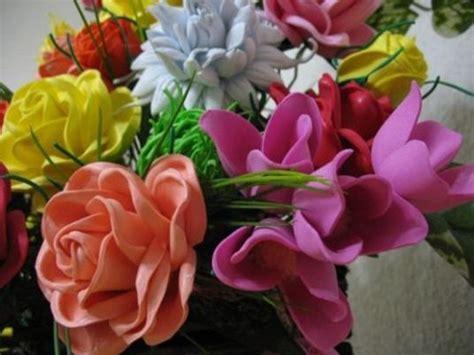 como hacer flores de goma eva c 243 mo hacer flores de goma eva paso a paso flores pinterest