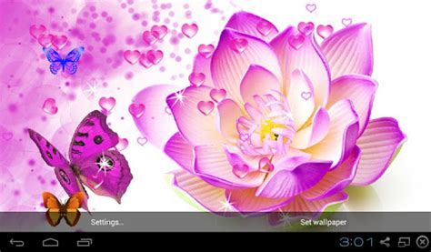 wallpaper 3d lotus 3d lotus wallpapers android market