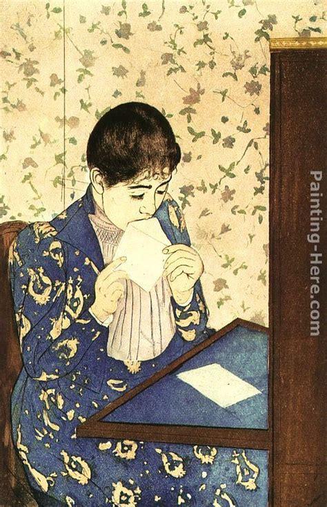 Letter For Painting Cassatt The Letter Painting Anysize 50 The Letter Painting For Sale