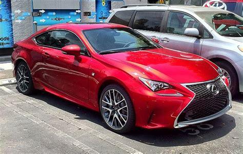 lexus rcf red photo gallery lexus rc f sport in red lexus enthusiast