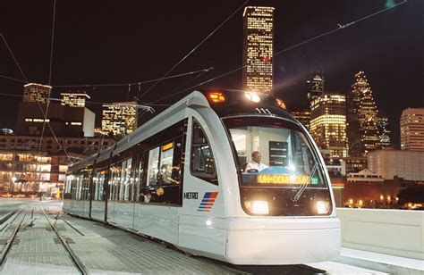 metro light rail houston will light rail carry houston into the future crain s