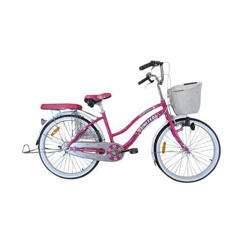 Sepeda Yang Ada Keranjang Nya jual element edelweiss sepeda keranjang 24 inch