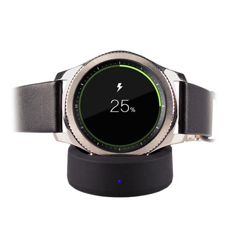 Smartwatch Charging Dock Cradle Charger Gear S2 Samsung Original itian chargeur 224 induction pour samsung gear s3 gear s2